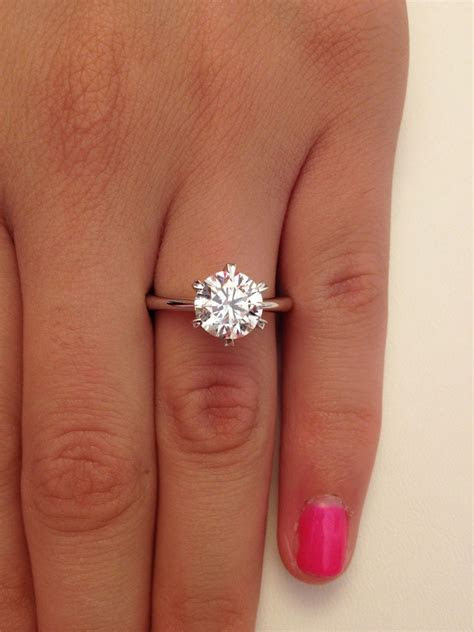 2ct Engagement Ring on Pinterest   Cool Engagement Rings