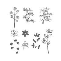 Mother's Love Photopolymer Stamp Set