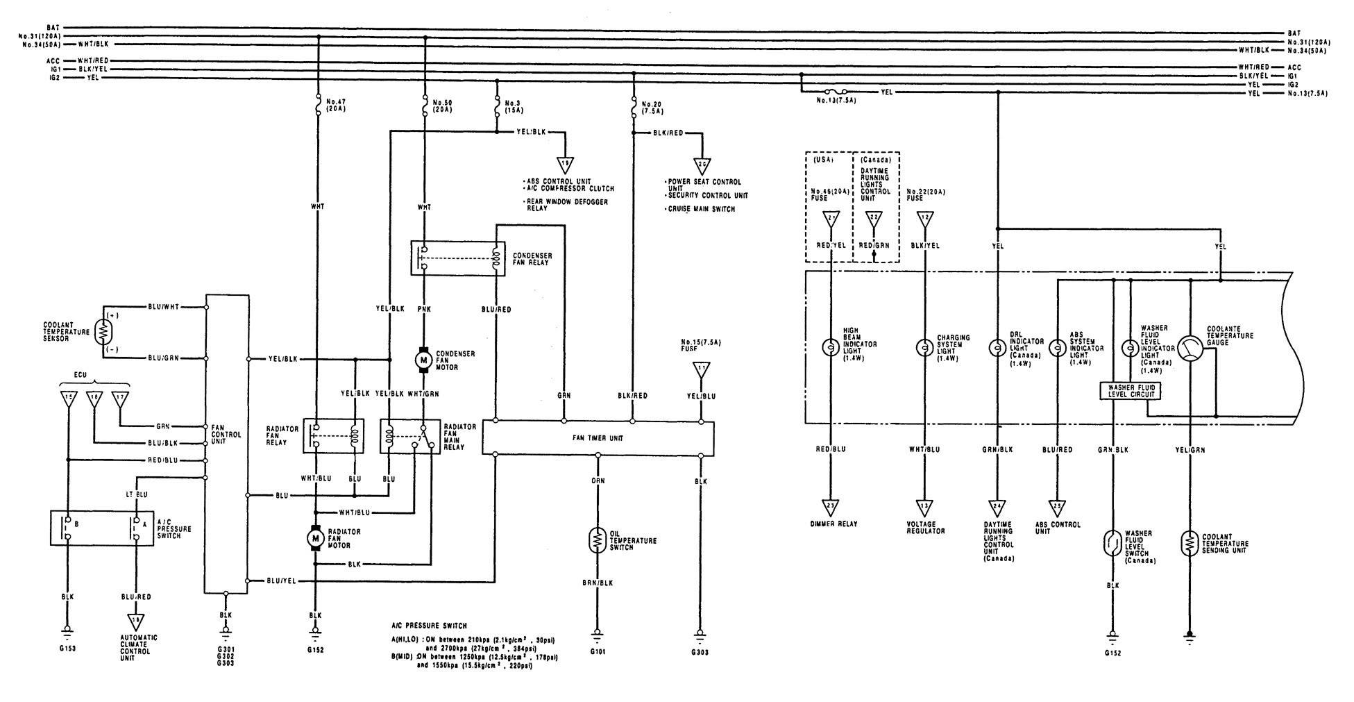 1995 Acura Integra Wiring Diagram - Wiring Diagram Schema
