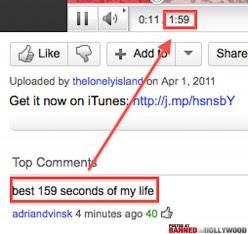 Salah satu komentar YouTube paling lucu yang pernah!