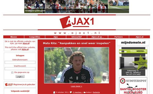 ajax1 by totemtoeren