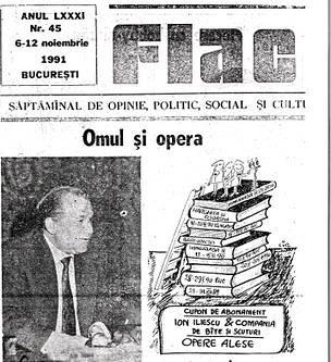 Ion Iliescu, omul si Opera