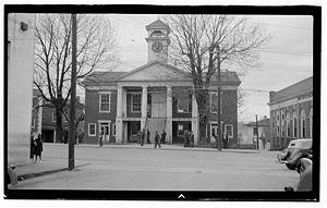Photographic view of the Pittsylvania County c...
