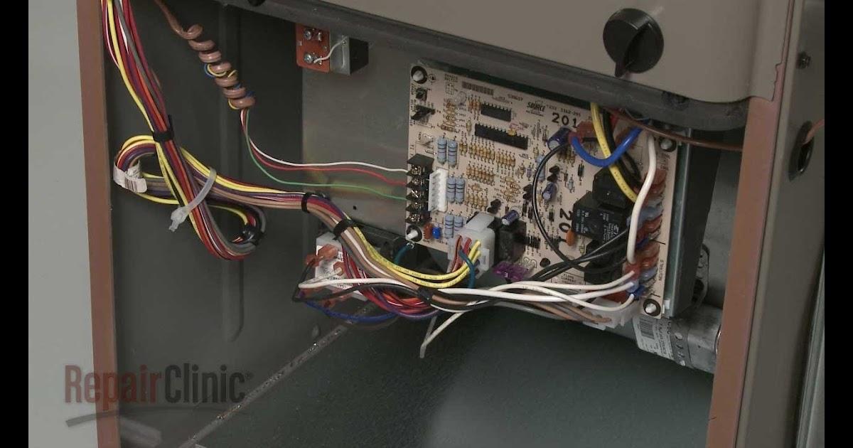 York Ga Furnace Control Board Wiring Diagram