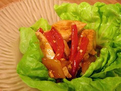 chicken lettuce wraps-1