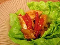 chicken lettuce wraps-1