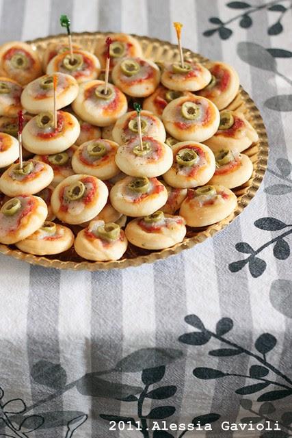 Pizzette alle olive