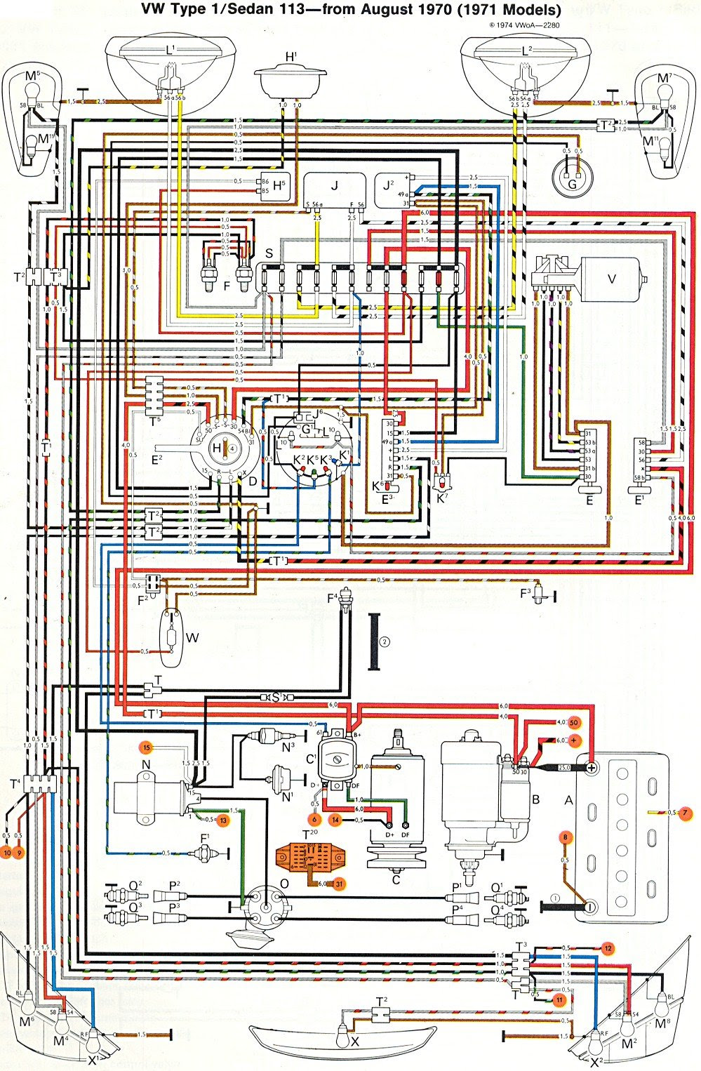 1969 Vw Beetle Fuse Box Wiring Diagrams Register Register Miglioribanche It