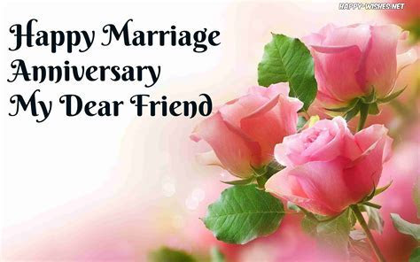 Happy Anniversary Wishes for friends   Quotes and Images