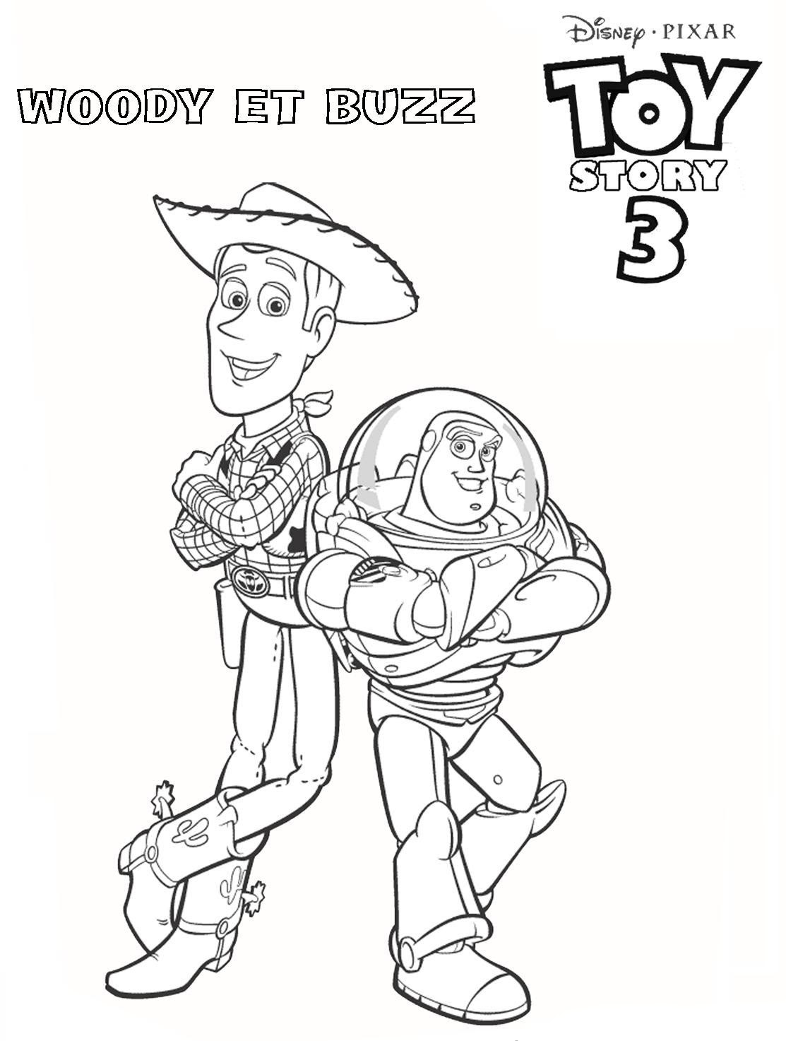 Coloriage Toy Story 3 Auto Electrical Wiring Diagram
