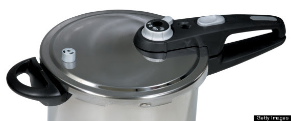 Pressure Cooker In Bathroom