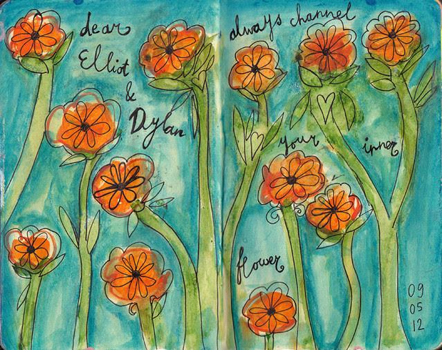 Dylan & Elliot Art Journal - p4