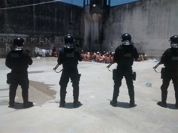 Resultado de imagem para agentes penitenciarios rn