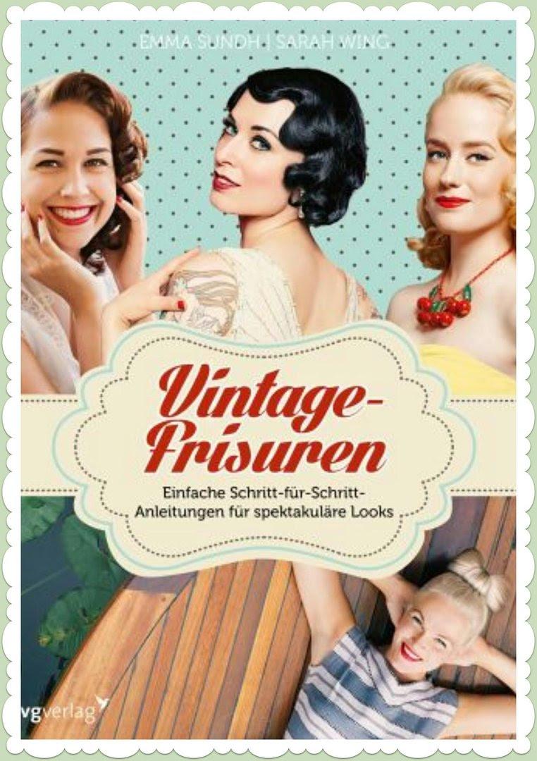 Vintage Frisuren Buch Schritt Für Schritt Anleitungen