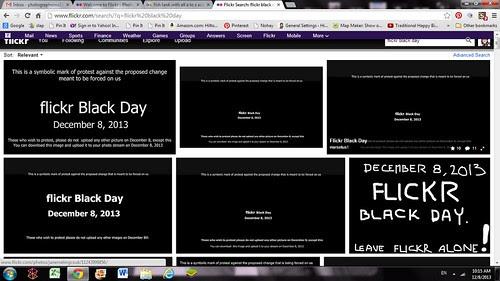 Flickr Black Day by firoze shakir photographerno1