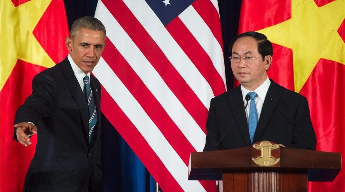 Obama levanta el embargo de armas a Vietnam para contrarrestar a China