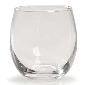 Creative Hobbies® 24 Clear Glass Votive Candle Holder Cups ...