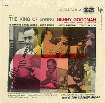 GOODMAN, BENNY king of swing, the vol.2