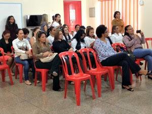 Projero Triagem Auditiva em Escolares foi lançado na manhã desta quarta-feira em Porto Velho (Foto: Hosana Morais/G1)
