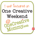 Featured on One Creative Weekend
