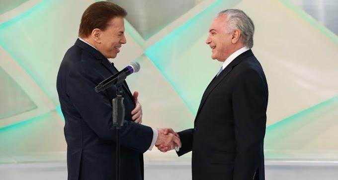 Michel Temer para Silvio Santos: Reforma da Previdência vai ajudar os mais pobres