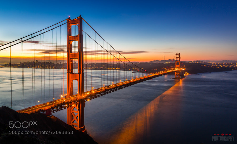 Photograph Golden Gate Bridge | San Francisco, CA by Marvin Manabat on 500px
