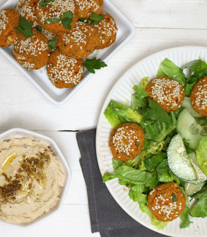 Süßkartoffel-Falafel | whatinaloves.com