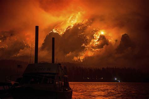 largest wildfires  washington state oregon