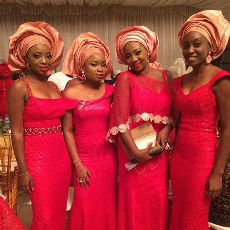 NWglam The Most Popular Aso ebi Color Combination in 2014