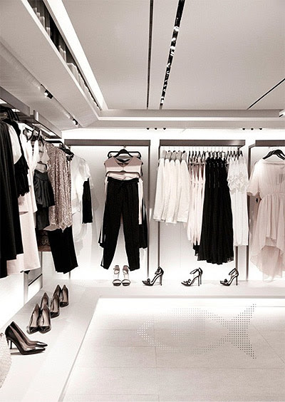 Zara's New Green Retail Store Interior Design - Commercial