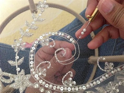 hand embroidery designs for wedding veils   Google Search