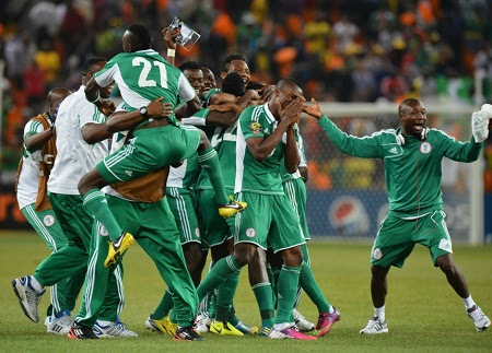 Nigeria Thrash Argentina 4-2 in Pre-World Cup Bout