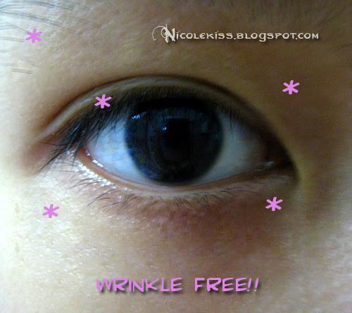 wrinkle free eye