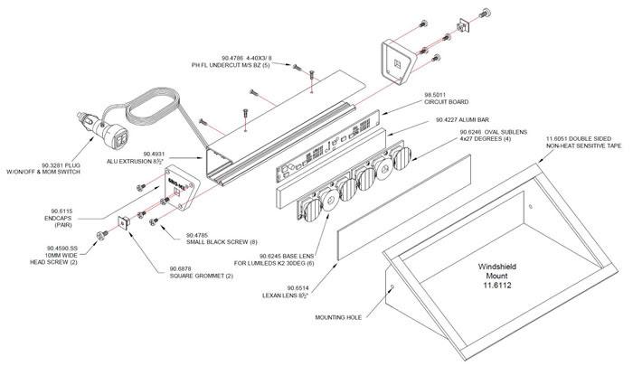 Ufo Headlight Wiring Diagram