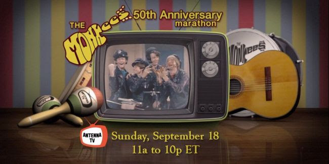 The Monkees 50th Anniversary Marathon on Antenna TV