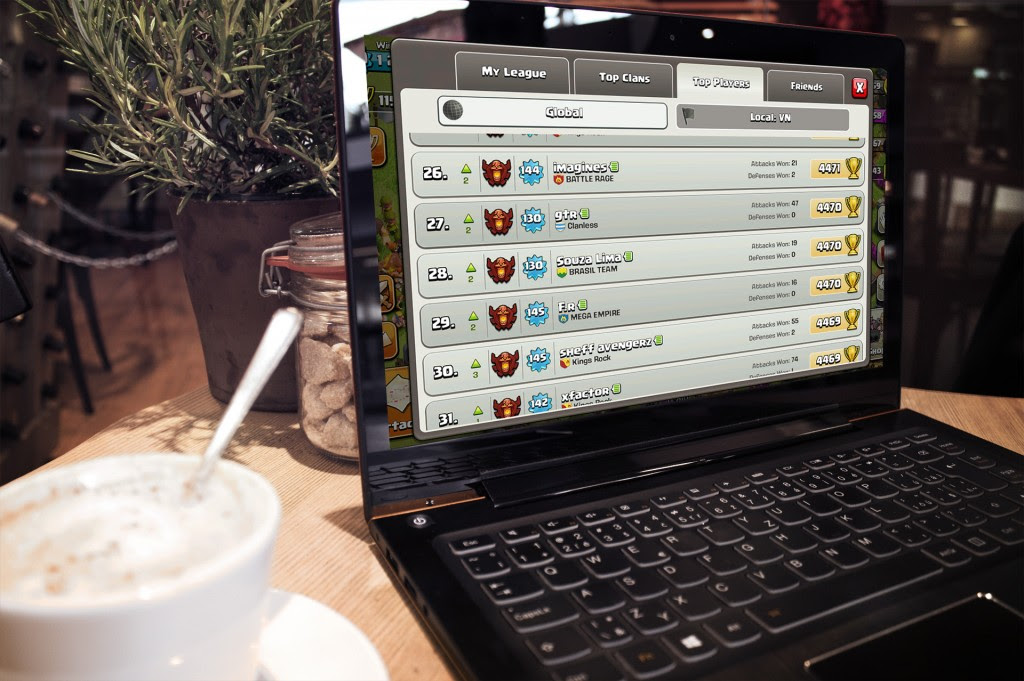 Play Clash of Clans on PC ExpanDroiders.blogspot.com