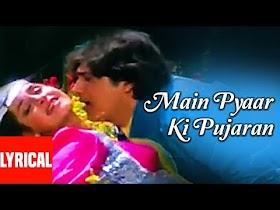 Main Pyar Ki Pujaran Lyrics - Hatya (1988)   Romantic Song