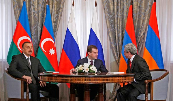 "Wikileaks: Aliyev says Sargsyan wanted to ""walk away"" from negotiation process"