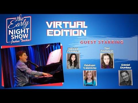 The Early Night Show With Joshua Turchin (Tori & Hayley Feinstein, Daniel Dunlow, Addison Valentino)
