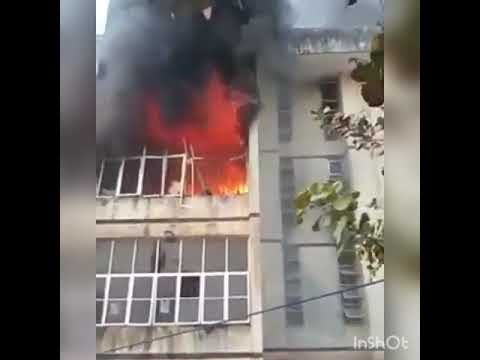 Micheal Okpara University Of Agriculture Male Hostel On Fire