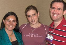 Diana Gabaldon, Aprilynne Pike and Matthew Peterson