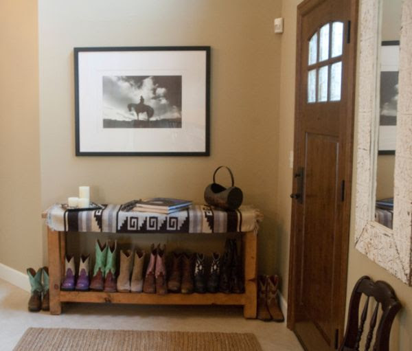 Entryway Storage Shoes | Interior Decorating Tips