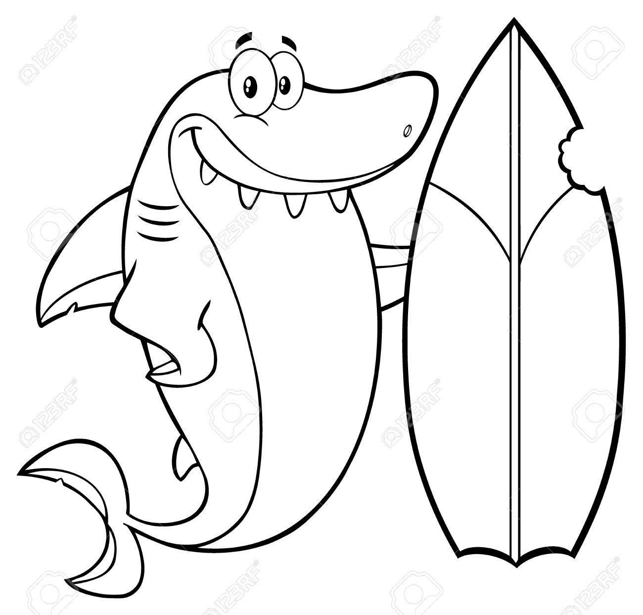 Surfboard Cartoon Drawing at GetDrawings | Free download