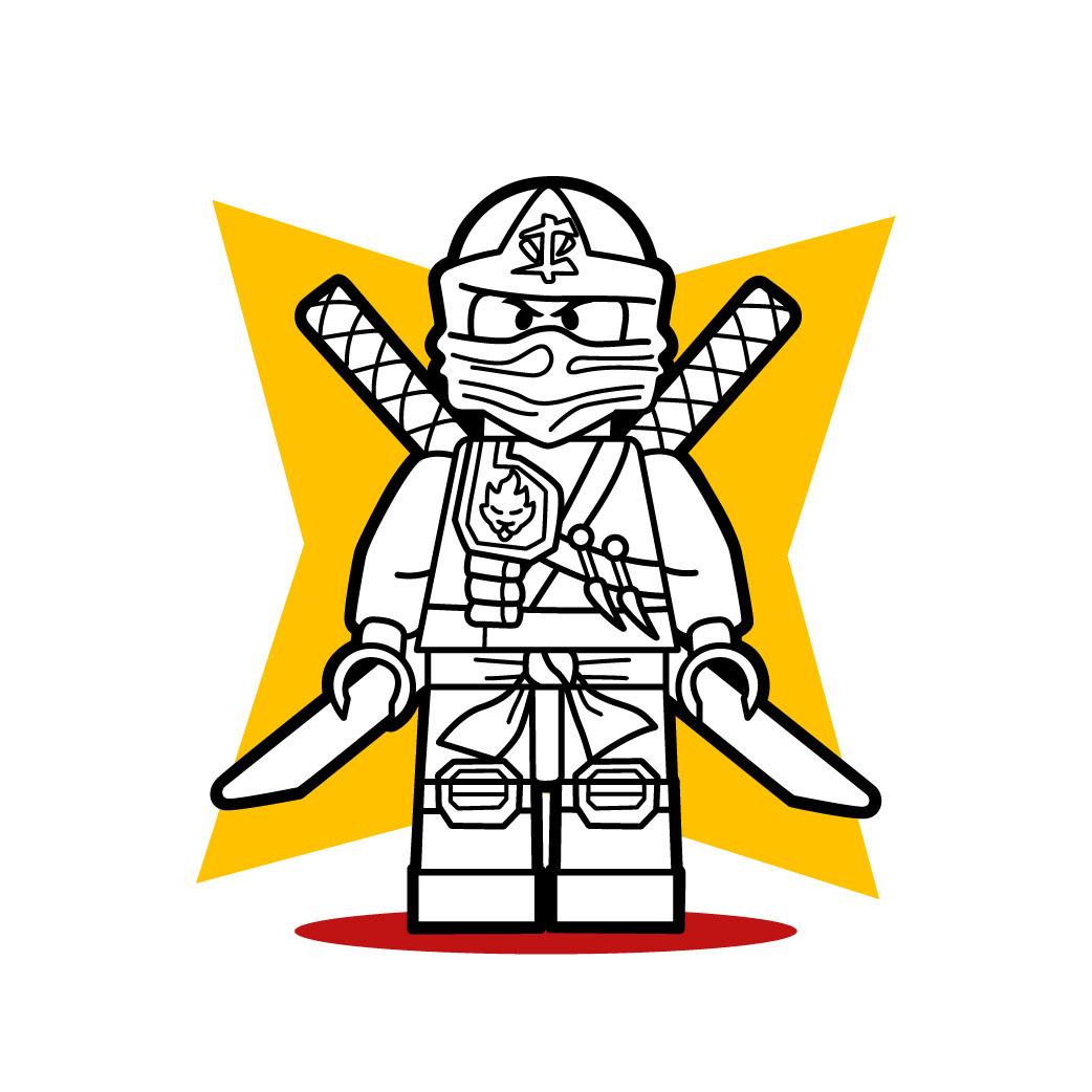Aprender A Dibujar El Lego Ninja E Ninjago Eshellokidscom