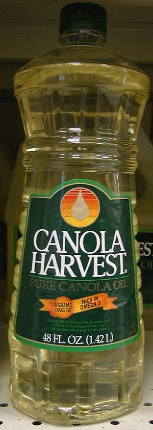 English: Canola Oil, bottle This image was cre...