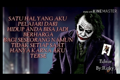 Kata Kata Motivasi Joker Bahasa Indonesia