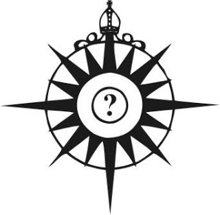 Compass rose from Haller blog