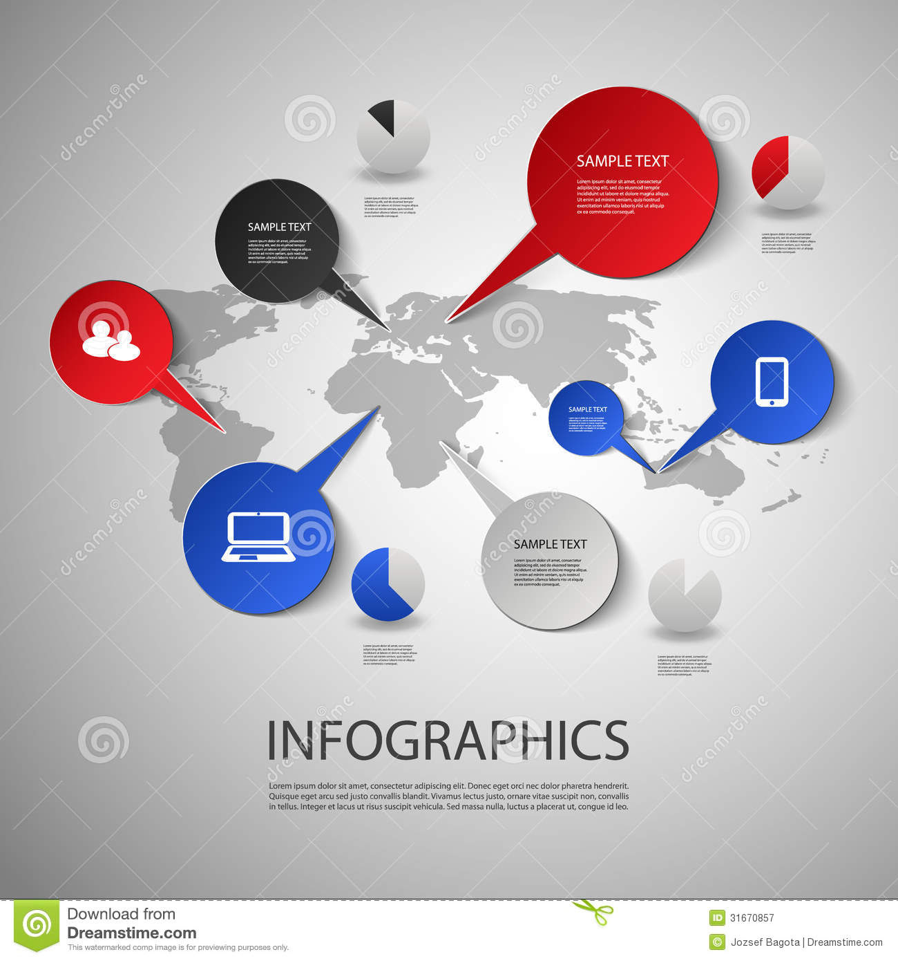 Infographic Cover Design Stock Photo - Image: 31127500
