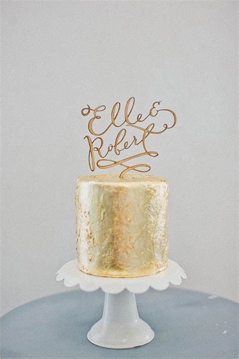 40 Wedding Ideas: The Ultimate Wedding Cake Toppers