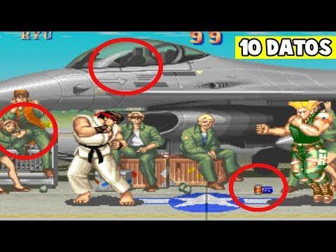 10 Curiosidades De Street Fighter